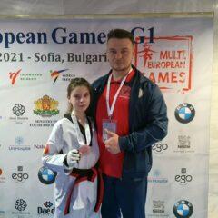 Taekwondo: Ana Luiza Bindea, argint la Multi European Games!