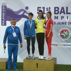 VIDEO, atletism: Larisa Talpiș, două medalii de argint la Balcaniada U20!