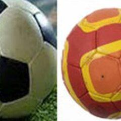 Astăzi, nevoiți să alegem! Fotbal sau Handbal? Echipele Gloriei joacă în același timp și pe stadion și în Sala Polivalentă!  Astăzi și mâine sunt două zile de Cupa României la fotbal și la handbal.