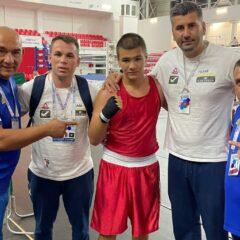 Box: Andrei Măjer, tare și afară! A luat bronz la europenele de cadeți!