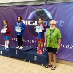 Înot: Medalii și locuri fruntașe pentru CS Tibi la la etapa regională a Campionatului Național de înot