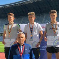 Atletism: Trei bistrițeni, pe podium la Naționalele de juniori!