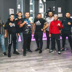 Luptătorii de la PFG, prezenți la inaugurarea uneia dintre cele mai moderne săli de fitness din oraș