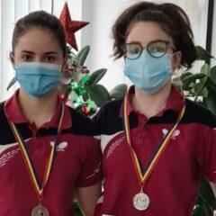 Tenis de masă: Medalii la naționale! Ioana Sîngeorzan și Cristina Sîngeorzan, pe podium la junioare 1 și 2!