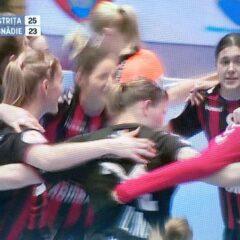 Handbal: Victorie fără glorie! Bistrița bate Măgura Cisnădie și urcă pe 5!