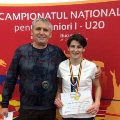 """Mare performanță bistrițeană la atletism: Larisa Talpiș, triplă campioană națională! Mihali: """"Vreau să ies la pensie pe ușa din față"""""""