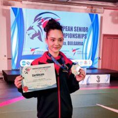 Taekwondo: Bistrițeanca Ionela Musteață, vicecampioană europeană de senioare!