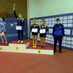 Tenis de masă: Cinci medalii pentru bistrițeni la naționalele de juniori 1