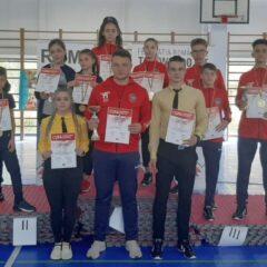 Taekwondo: Gloria 2018, pe locul 3 într-un concurs tare la București!