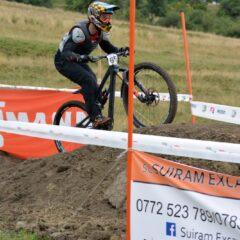 FOTO/ VIDEO, Downhill: Spectacol și adrenalină, la primul concurs pe traseul de la Pârtia Cocoș!