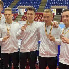 Gimnastică: CSM Bistrița, pe 3 la naționale! Emilian Neagu, campion național la sol și la inele!
